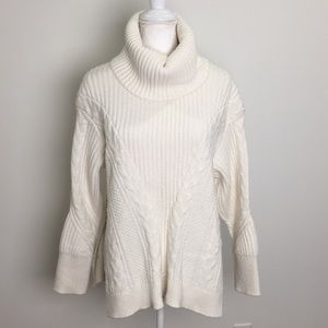 Banana Republic Cableknit Turtleneck Sweater